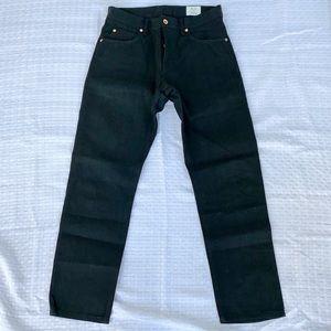 Billy Reid Black MSL-ALA Slim Cut Jeans. Like new!